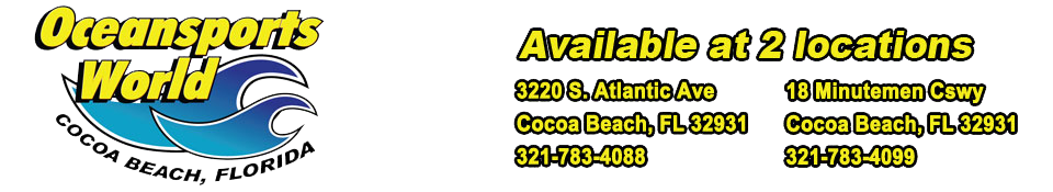 Oceansports World | Cocoa Beach, Florida Surf Shop